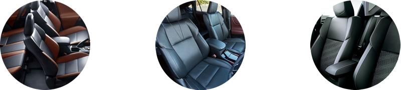 興和工業は車のシートカバーメーカーです